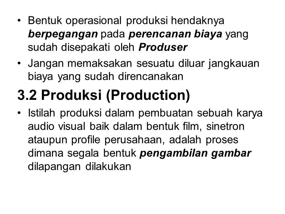 3.2 Produksi (Production)