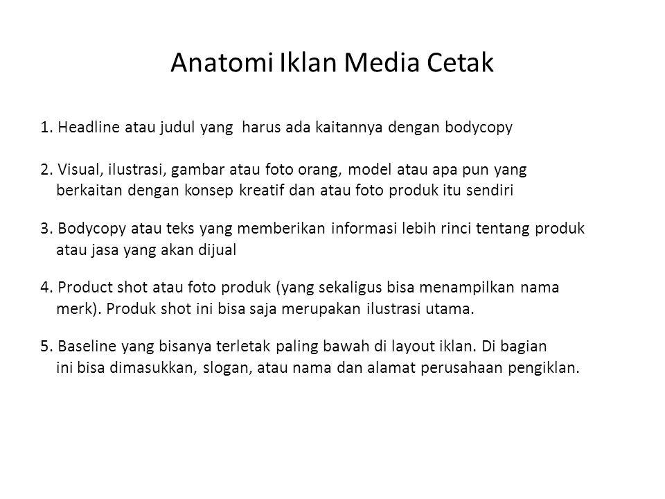 Anatomi Iklan Media Cetak