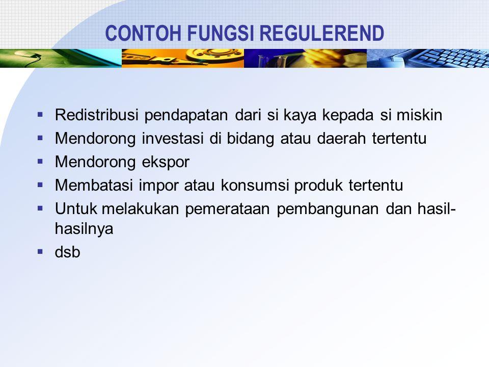 CONTOH FUNGSI REGULEREND