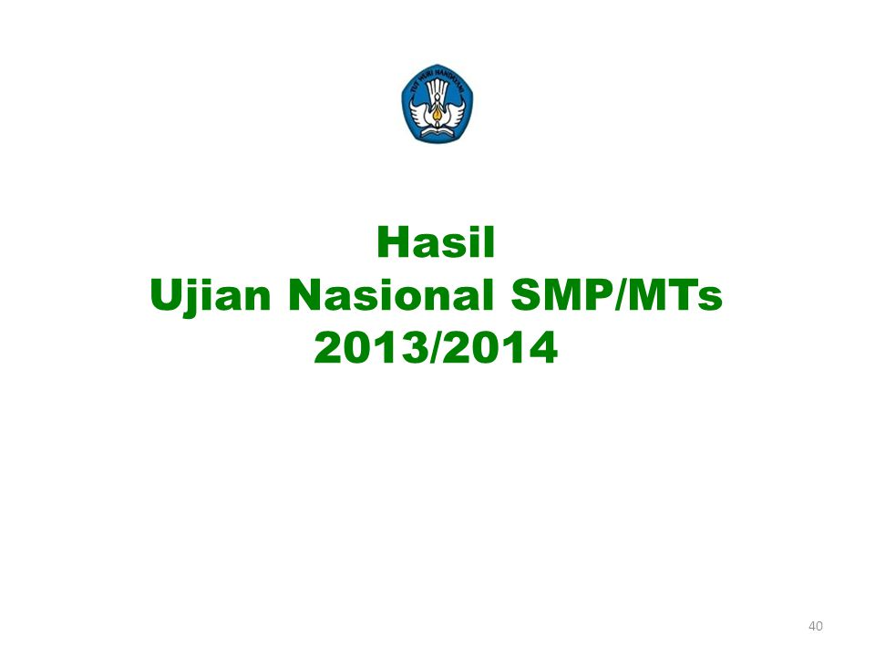 Ujian Nasional SMP/MTs