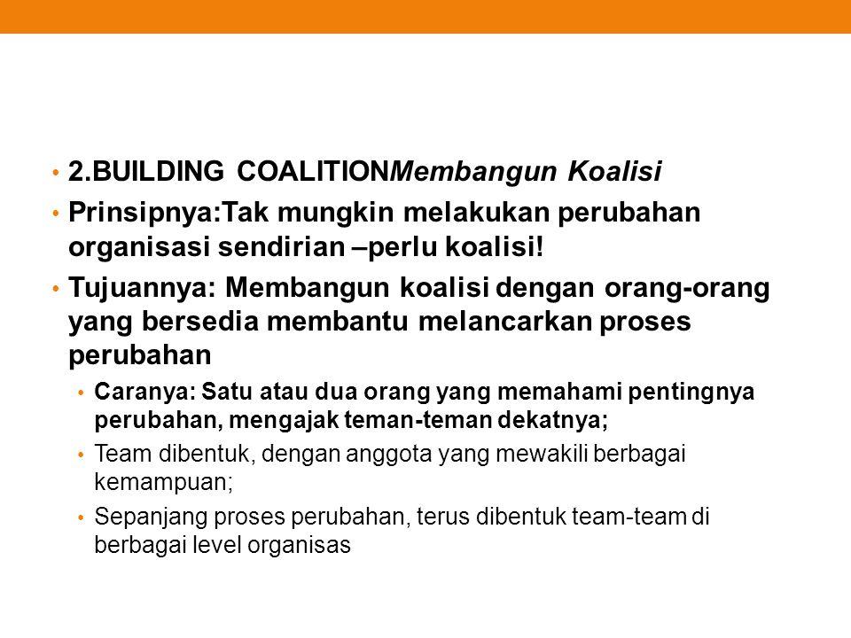 2.BUILDING COALITIONMembangun Koalisi