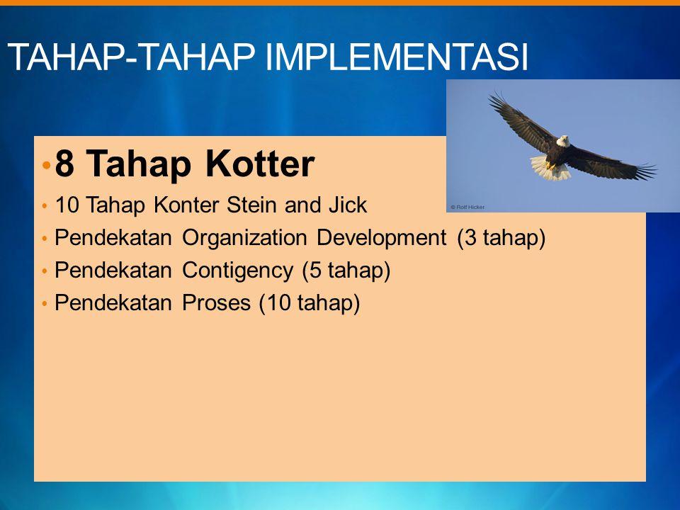 TAHAP-TAHAP IMPLEMENTASI
