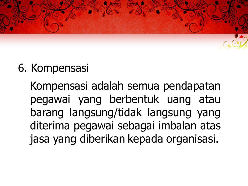 6. Kompensasi