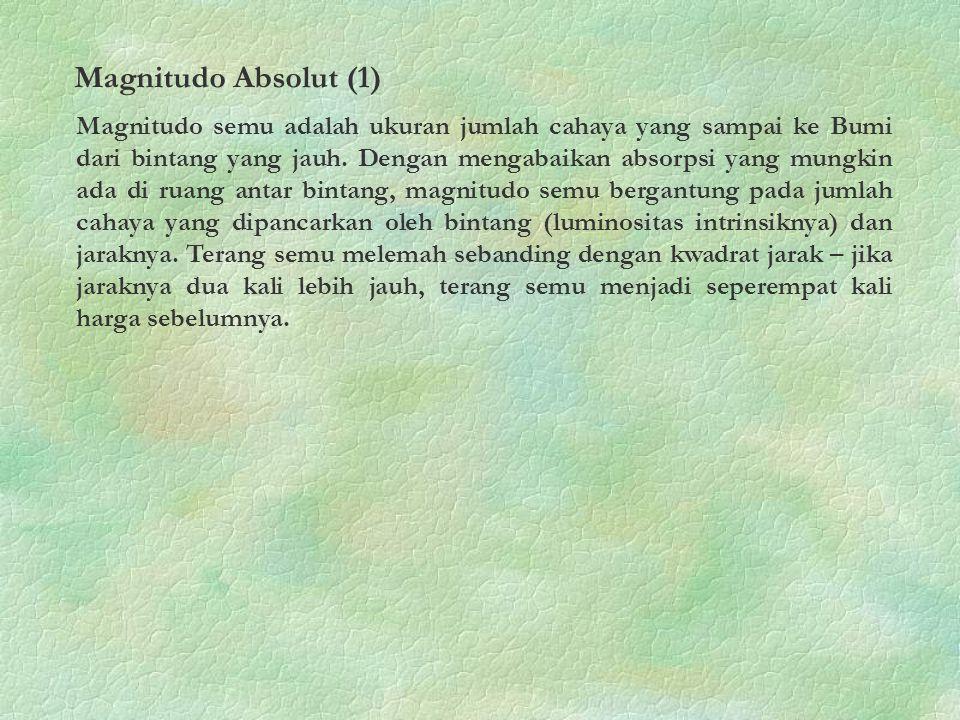 Magnitudo Absolut (1)