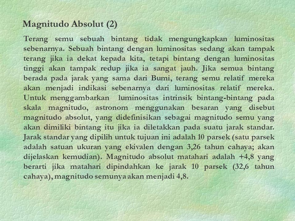 Magnitudo Absolut (2)
