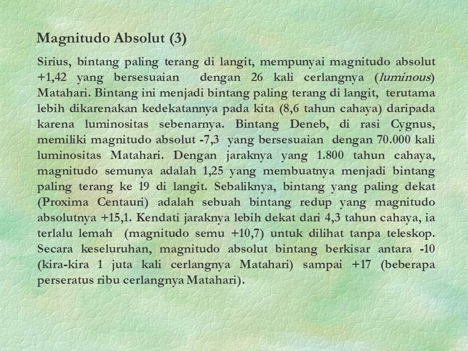 Magnitudo Absolut (3)