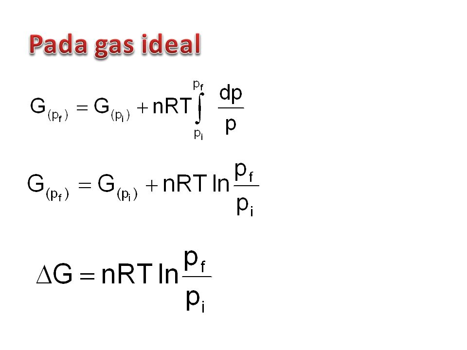 Pada gas ideal