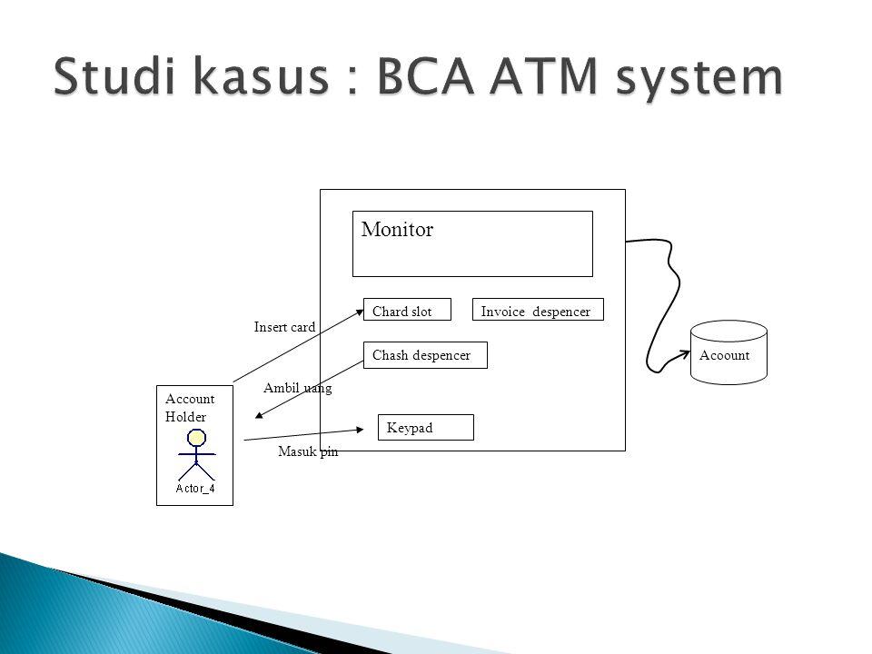 Studi kasus : BCA ATM system
