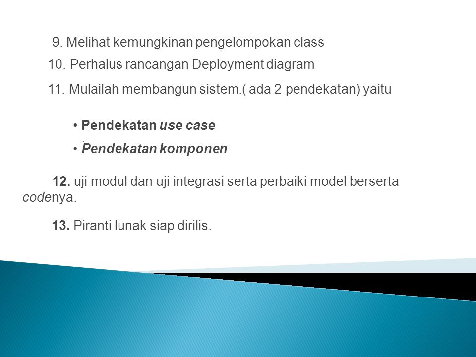 10. Perhalus rancangan Deployment diagram