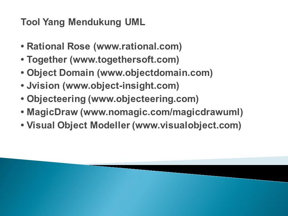 Tool Yang Mendukung UML