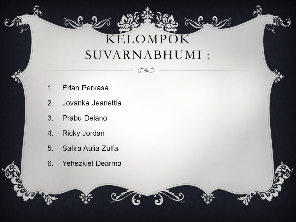 Kelompok Suvarnabhumi :