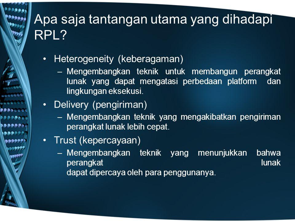 Apa saja tantangan utama yang dihadapi RPL