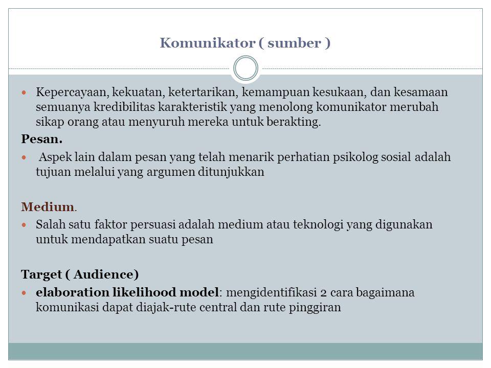 Komunikator ( sumber )
