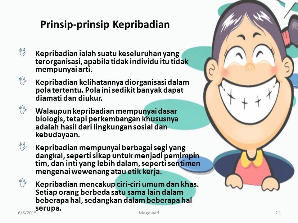 Prinsip-prinsip Kepribadian