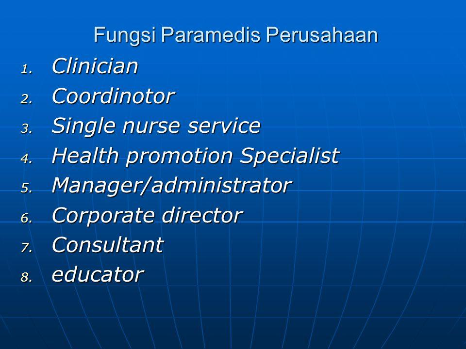 Fungsi Paramedis Perusahaan