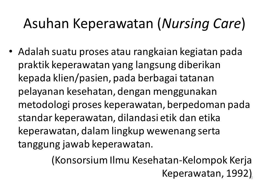Asuhan Keperawatan (Nursing Care)