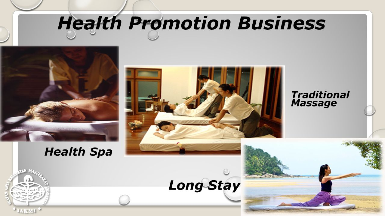 Health Promotion Business