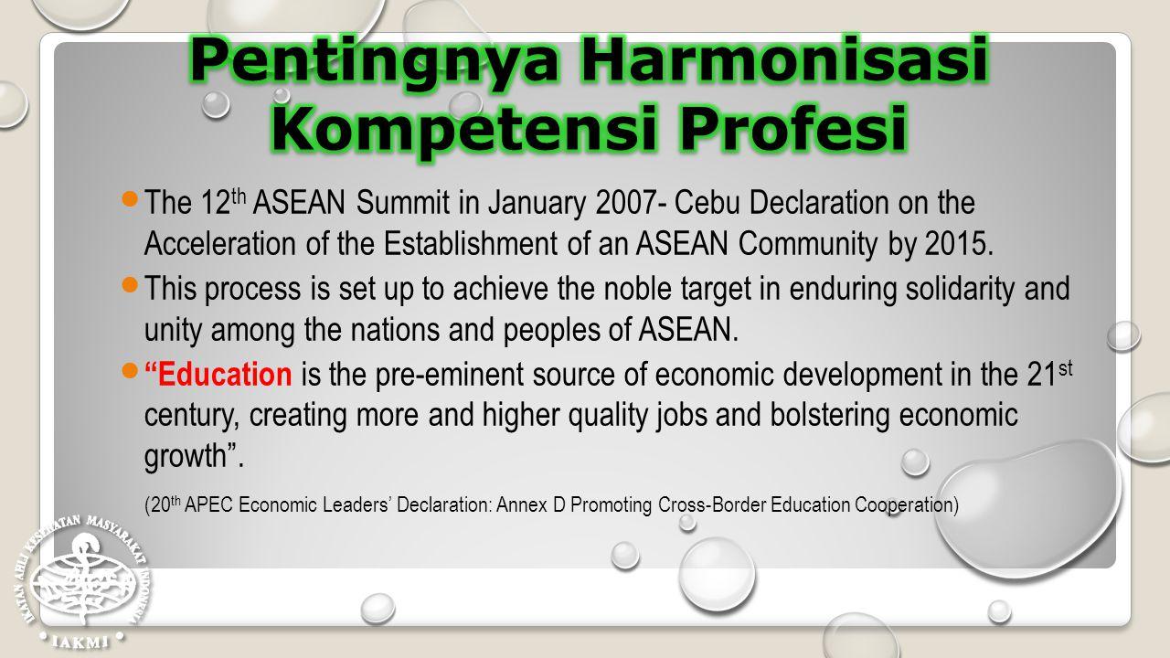 Pentingnya Harmonisasi Kompetensi Profesi