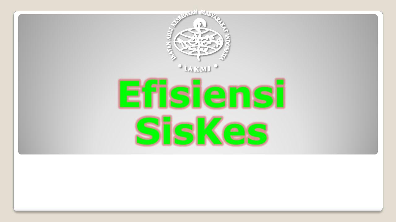 Efisiensi SisKes