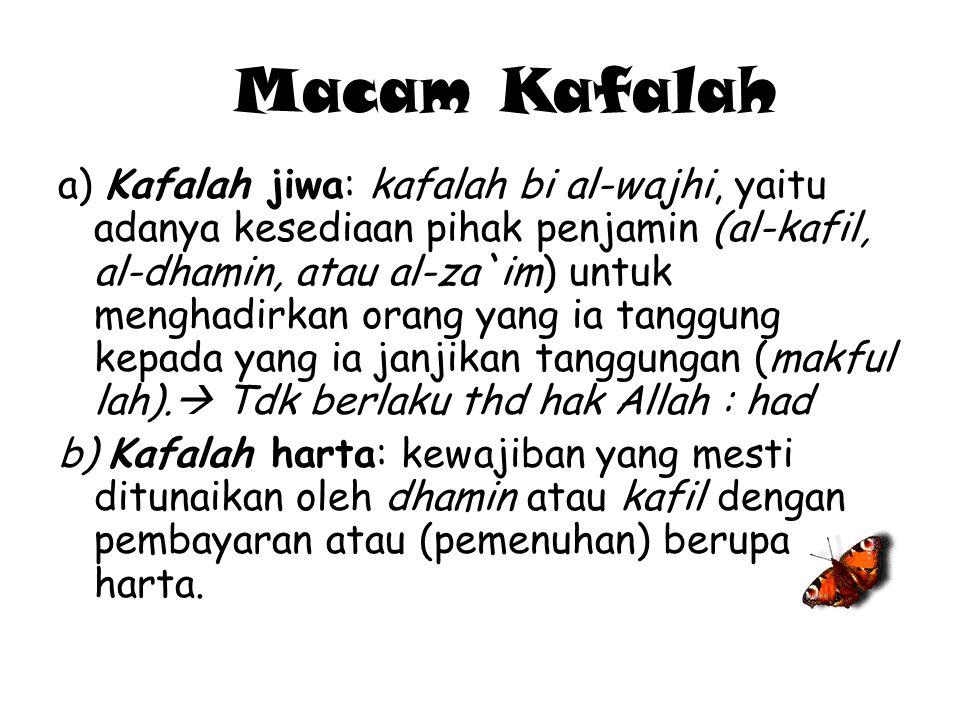 Macam Kafalah
