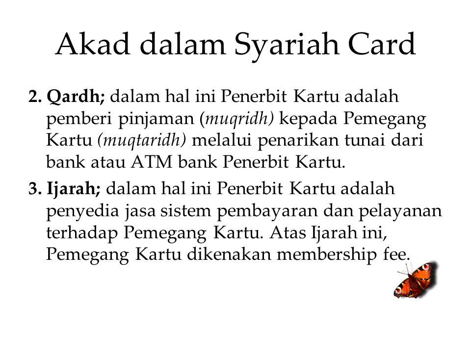 Akad dalam Syariah Card