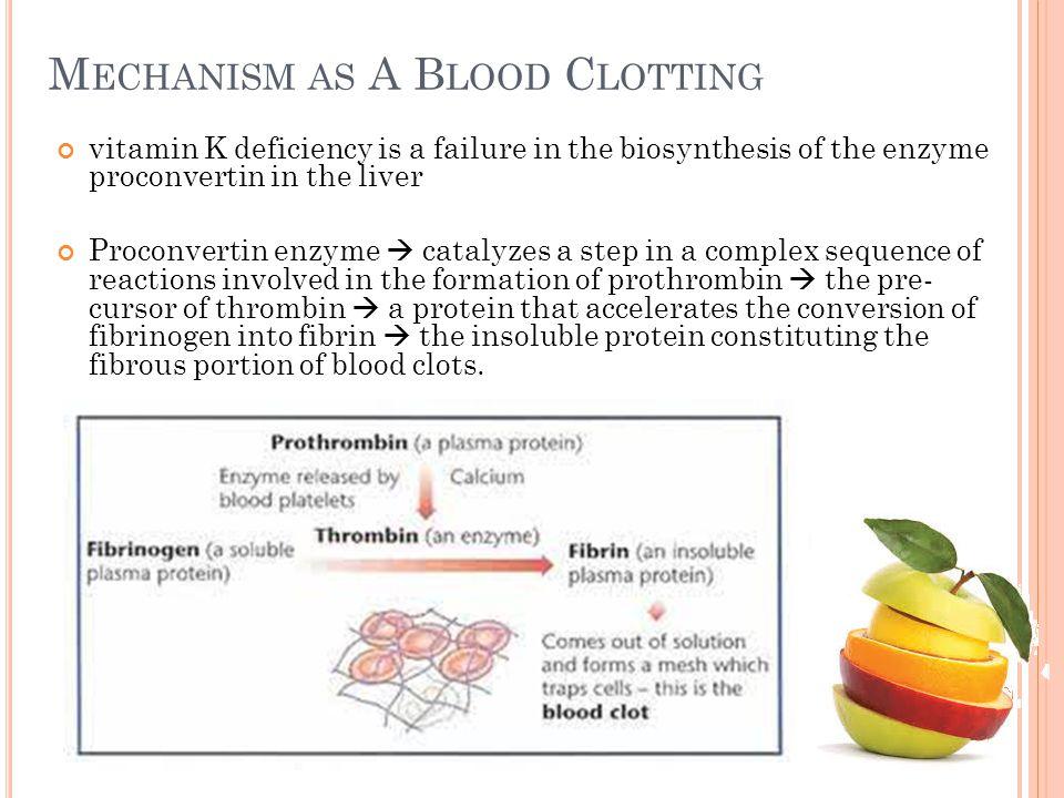 Mechanism as A Blood Clotting