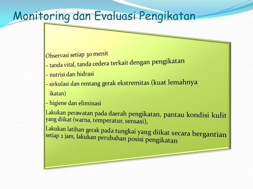 Monitoring dan Evaluasi Pengikatan