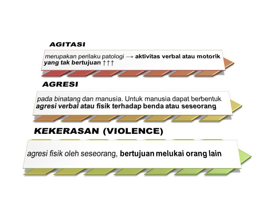 AGITASI AGRESI KEKERASAN (VIOLENCE)