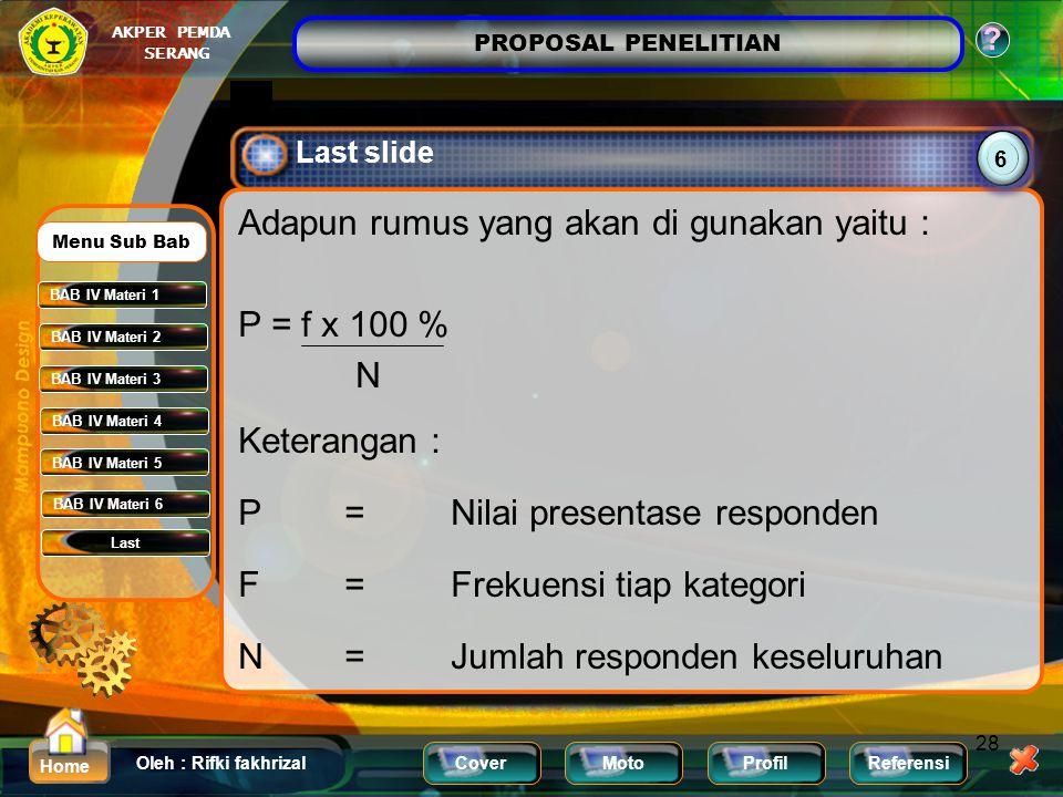 Last slide 6.