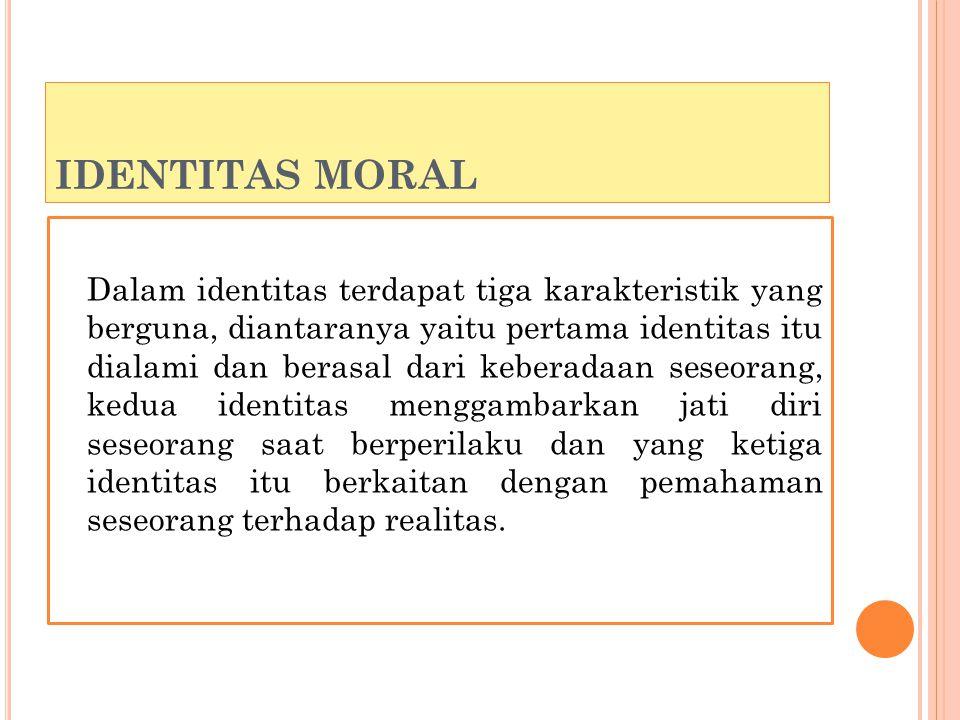 IDENTITAS MORAL