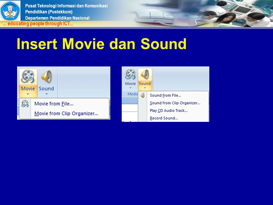 Insert Movie dan Sound