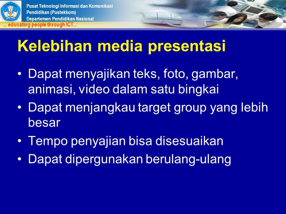 Kelebihan media presentasi
