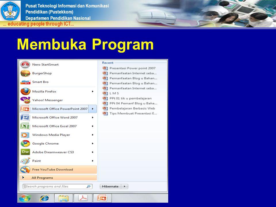 Membuka Program