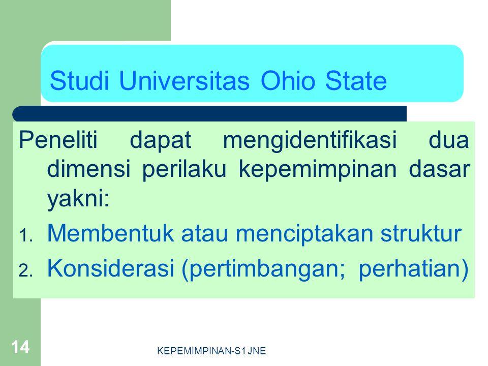 Studi Universitas Ohio State