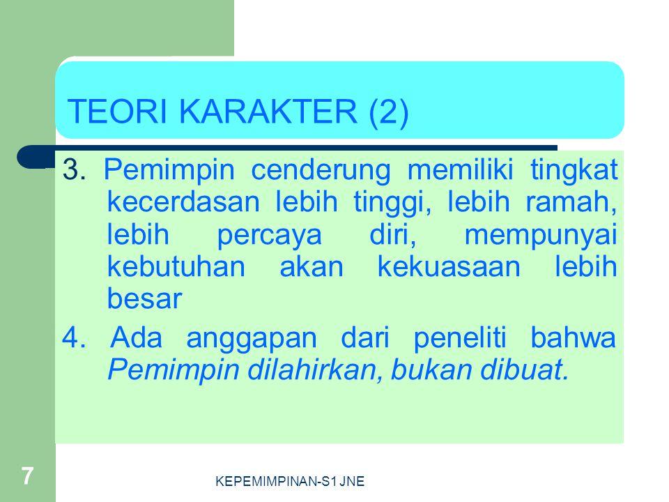 TEORI KARAKTER (2)