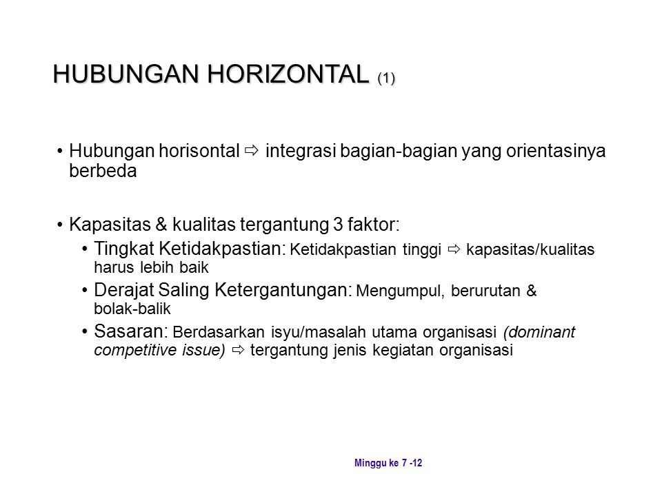 HUBUNGAN HORIZONTAL (1)