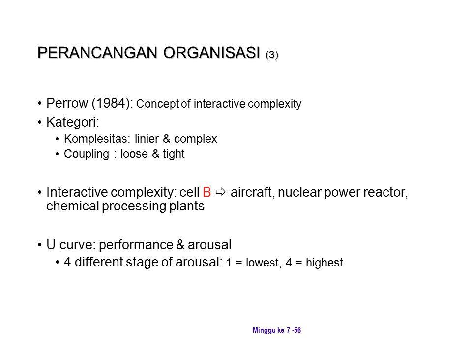 PERANCANGAN ORGANISASI (3)