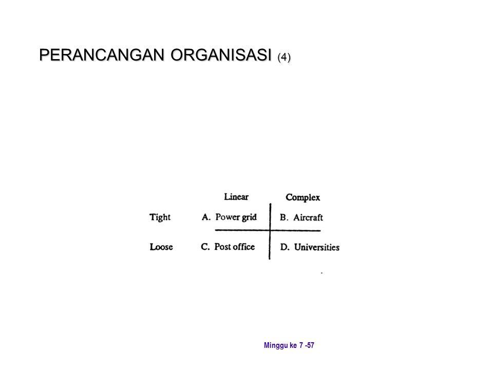 PERANCANGAN ORGANISASI (4)