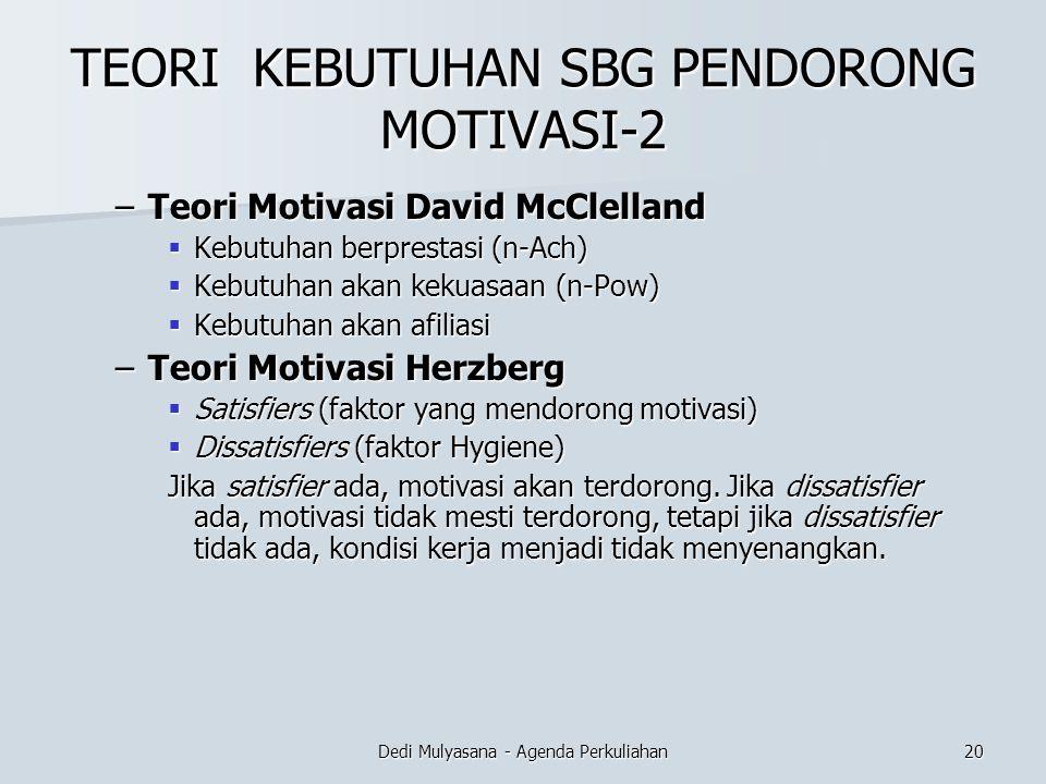 TEORI KEBUTUHAN SBG PENDORONG MOTIVASI-2