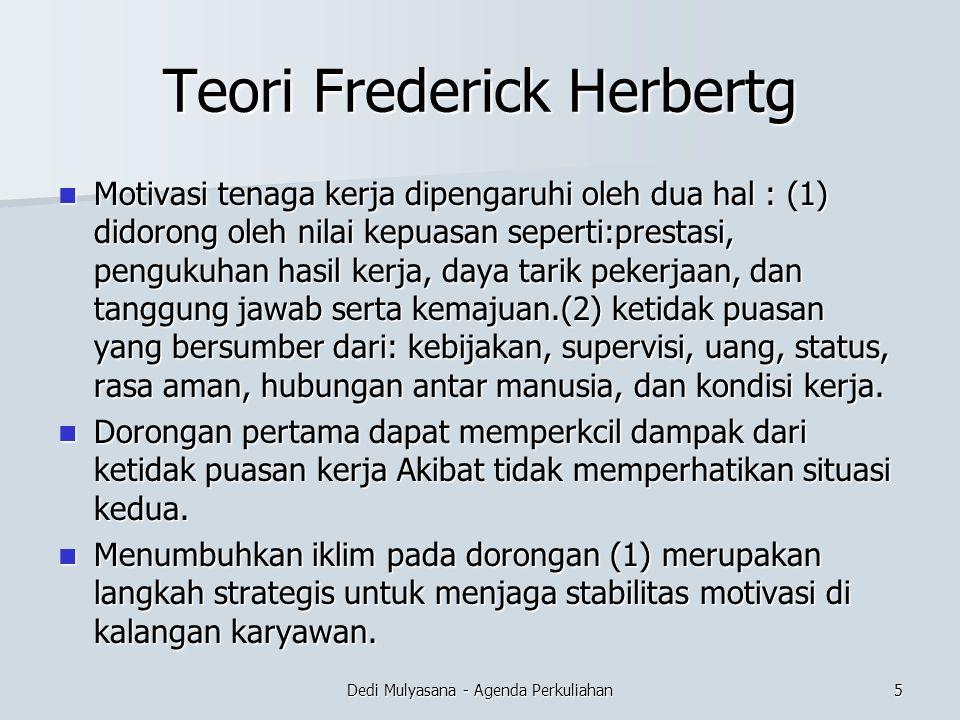 Teori Frederick Herbertg
