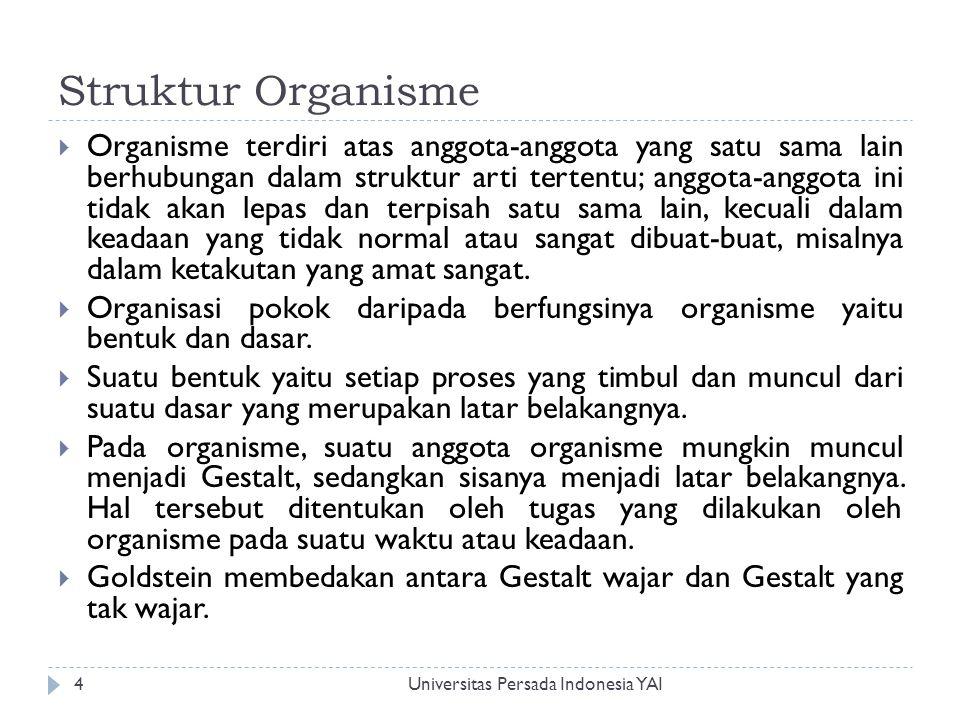 Struktur Organisme