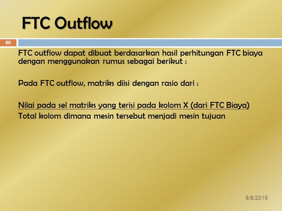 FTC Outflow