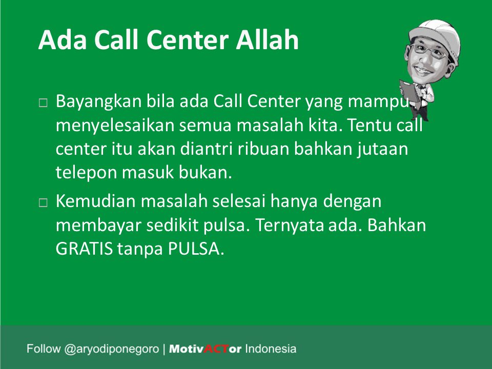 Ada Call Center Allah