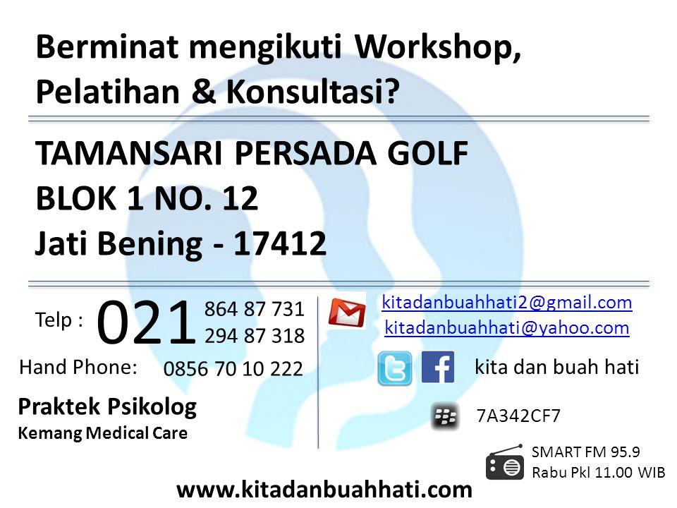 021 Berminat mengikuti Workshop, Pelatihan & Konsultasi
