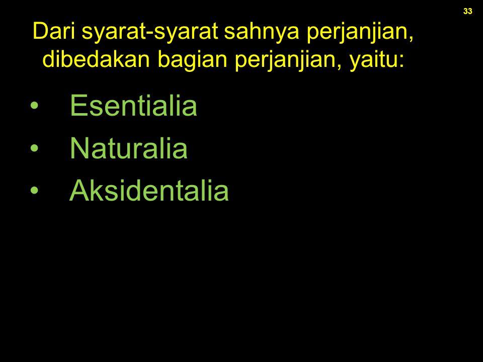 Esentialia Naturalia Aksidentalia