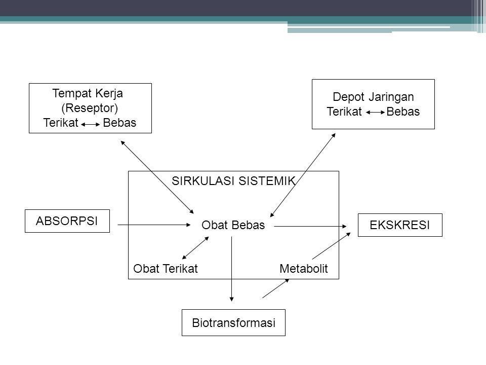 Depot Jaringan Terikat Bebas. Tempat Kerja. (Reseptor) Terikat Bebas. SIRKULASI SISTEMIK.