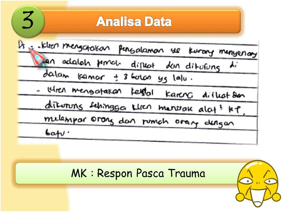 MK : Respon Pasca Trauma
