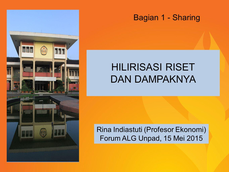 Rina Indiastuti (Profesor Ekonomi)