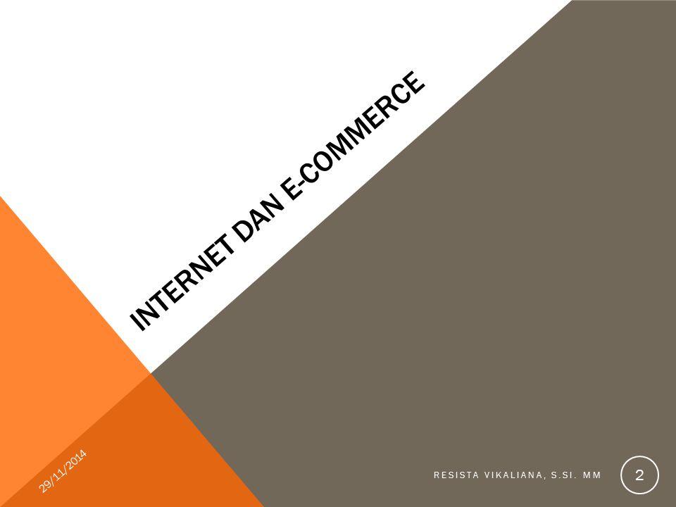 Internet dan e-commerce