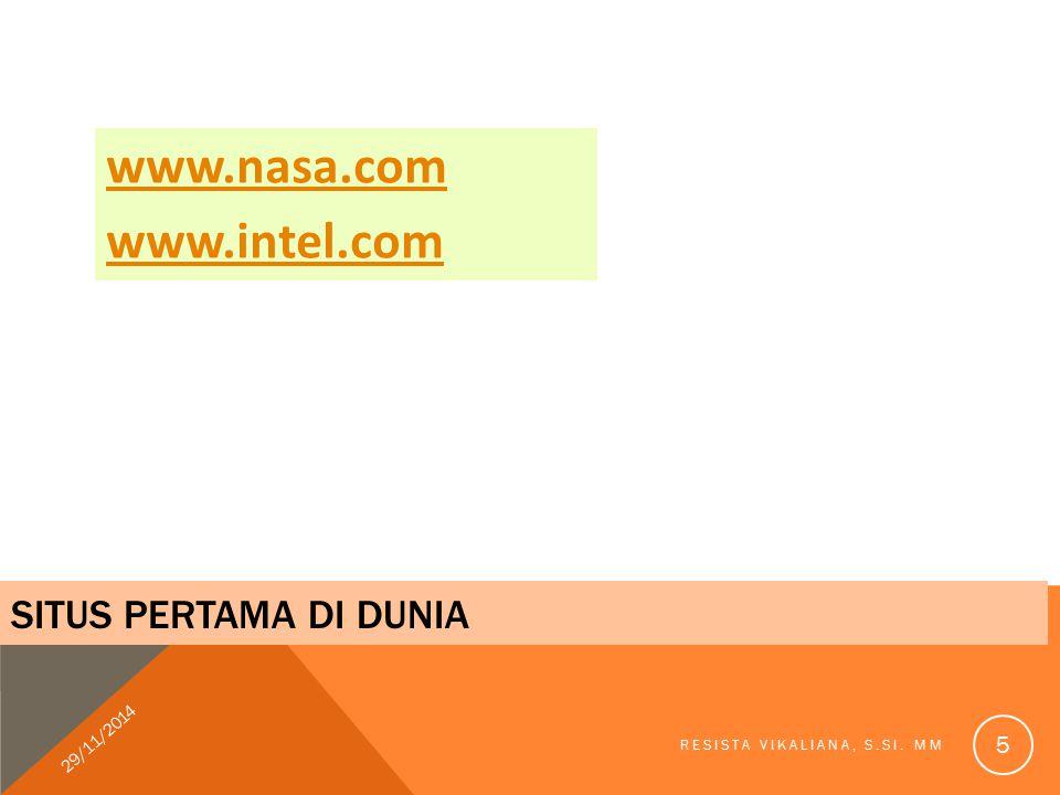 www.nasa.com www.intel.com